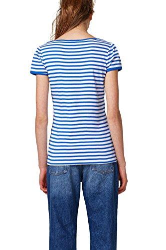 edc by ESPRIT Damen T-Shirt Weiß (White 100)