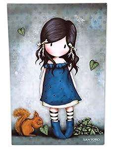 Gorjuss CV-01A-G Lienzo You Brought Me Love, 20 x 30 cm