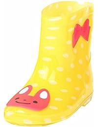Kinder Regen Schuhe,MEIbax wasserdichte Schuhe Kind Tier Gummi Infant Baby Regen Stiefel Regen Schuhe Kinder wasserdichte Gummistiefel