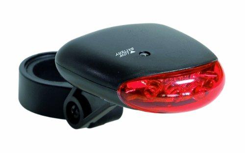 Büchel Batteriehecklampe, 5 LED, kompakt, schwarz, 51614