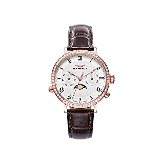 Reloj Suizo Sandoz Mujer 81344-92 Antique