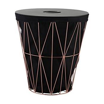 axentia 128275 Wäschekorb - Design Wäschesammler mit
