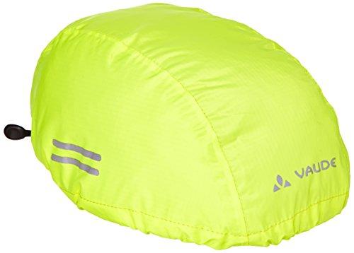 fahrradhelm neon gelb VAUDE Kinder Helmet Raincover, Neon Yellow, 03965