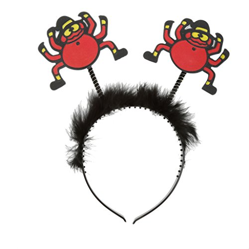 Imported SPIDER HEADBAND NIGHT OUT HEN PARTY FANCY DRESS ACCESSORY FUR HEAD BAND