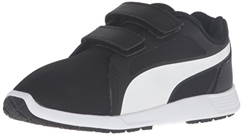 Puma ST Trainer Evo V Synthetik Turnschuhe Black-White