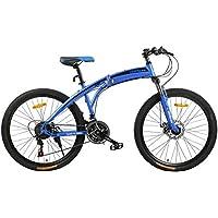 Fitness Minutes Folding Bike, Blue, FM-F26-02S-BL