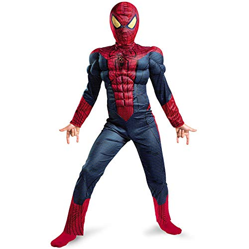 YXIAOL Erstaunliche Spider-Man, Kinder-Superhelden-Kostüm, Spider-Man-Cosplay, Halloween-Partykleid, 3D-Stil - Spidermans Kostüm