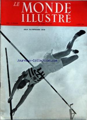 MONDE ILLUSTRE (LE) [No 4475] du 07/08/1948 - JEUX OLYMPIQUES 1948 - LES PHARES par Collectif