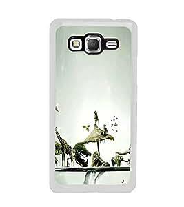 Fuson Designer Back Case Cover for Samsung Galaxy Grand Prime :: Samsung Galaxy Grand Prime Duos :: Samsung Galaxy Grand Prime G530F G530Fz G530Y G530H G530Fz/Ds (Wild animals Nature Ecosystem trees Sky)
