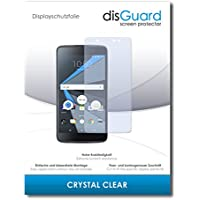 """3 x disGuard® Screen Protector Blackberry DTEK60 Screen Protection Film """"CrystalClear"""" invisible"""