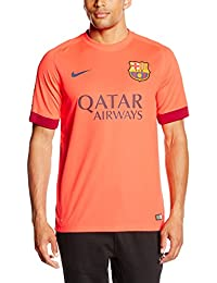 Nike Fcb Away Stadium - Camiseta de fútbol, color rojo, talla XL
