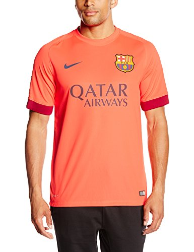 610595 672|Nike 2014/15 FC Barcelona Stadium Away Trikot|Crimson|S