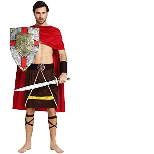 thematys Krieger Ritter Kostüm-Set für Herren - perfekt für Fasching, Karneval & Halloween - Einheitsgröße ()