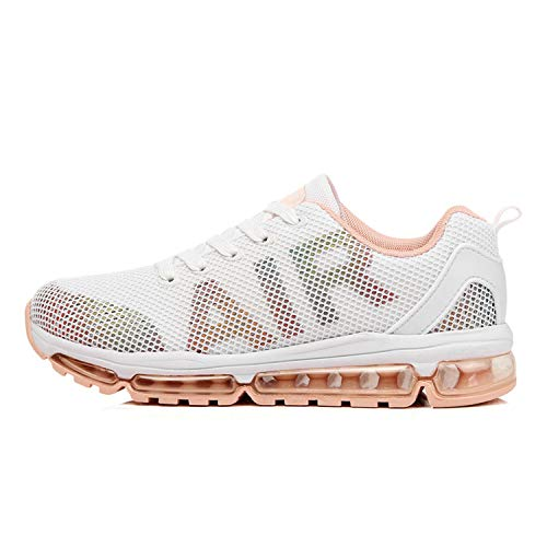 Axcone Damen Herren Sneaker Laufschuhe Air Sportschuhe Turnschuhe Running Fitness Sneaker Outdoors Straßenlaufschuhe Sports - WT 40EU