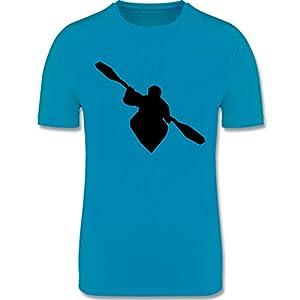 Sport Kind – Kajak – atmungsaktives Laufshirt/Funktionsshirt für Mädchen und Jungen