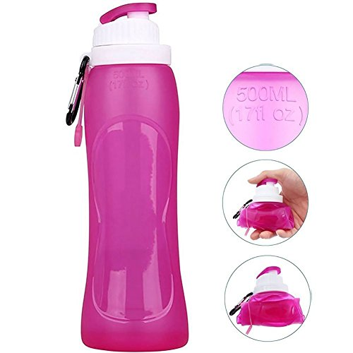collapsible-water-bottle-500ml17-oz-protable-silicone-foldable-water-container-carrier-leak-proof-ed