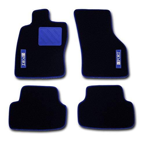 RAU Passform Fussmatten SPOTLIGHT SPORT blau - passend für das von Ihnen ausgewählte Fahrzeug,...