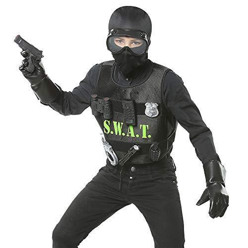 Widmann - Kinderkostüm - Swat Halloween Kostüm