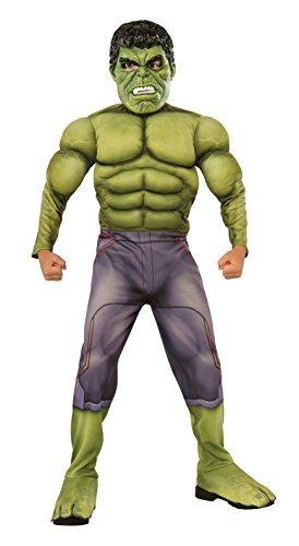 Generique - Deluxe Hulk-Kostüm für Kinder - Avengers 2 110/116 (5-6 - Avengers 2 Deluxe Hulk Kostüm