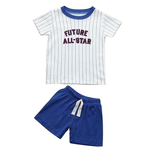 All-star Langarm-t-shirt (Baby Bekleidungssets, Chshe 2 Stücke Neugeborenes Kleinkind Jungen Mädchen