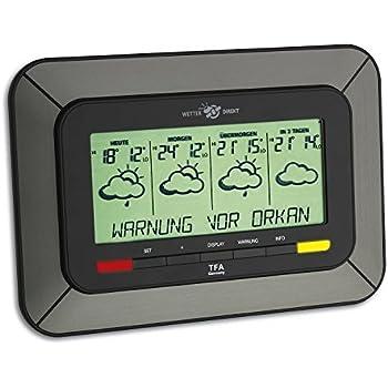 Wetterstation Twister 300 TFA 35.5047 mit Wetterwarnanzeige des DWD
