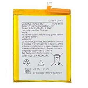 CPLD-382 2500 mAh Replacement Battery for Coolpad Note 3 Lite