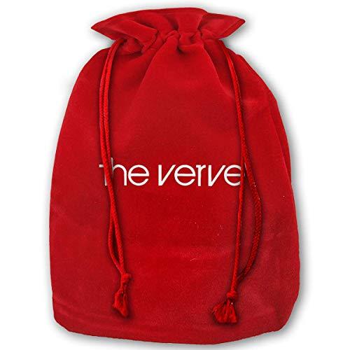 jiilwkie The Verve Top Logo Brit Pop Rock Richard Ashcroft Forth Christmas Drawstring Bag Gift Bags Santa Sack for Christmas Party Decoration