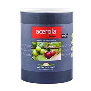 AMAZONAS Acerola Pulver, 500 g Pulver