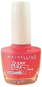 Maybelline SuperStay 7 Days Gel 872 Red Hot Getaway Nail Polish 10ml