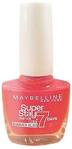 Maybelline SuperStay 7 Days Gel 872 Red Hot Getaway Nail Polish 10ml