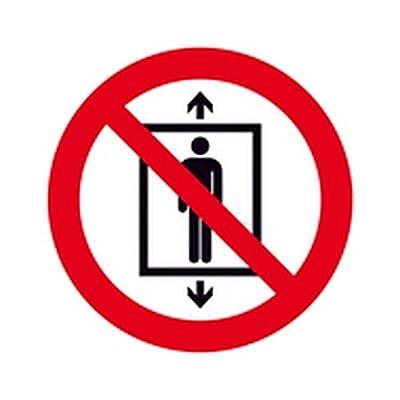 Aufkleber Personenbeförderung verboten Verbotszeichen Ø 10,0cm Folie
