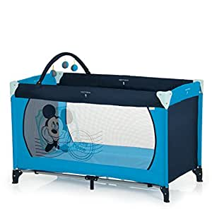 Hauck Lit Pliant Dream N Play, Mickey bleu