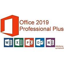 Microsoft Office 2019 Professional Plus Vollversion Deutsch für 1 PC (32/64-Bit) + Gratis-Installations-DVD