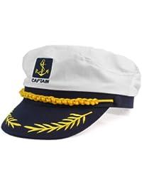 Casquette Chapeau Carnaval Déguisement Fête Amiral Marin Capitaine Bateau Yacht