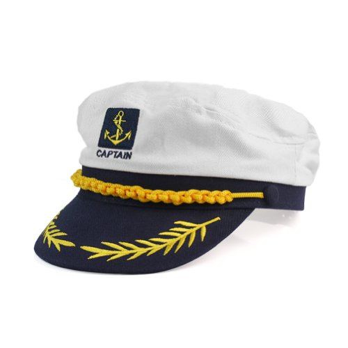 Kapitän Seemann Segler Kostüm Kappe Cap Hut Mütze -