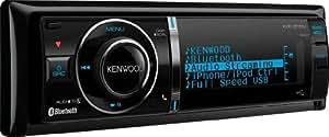 Kenwood KDC-BT61U CD/MP3-Tuner (Apple iPod-ready, Bluetooth, USB 2.0) schwarz mit variabler Tastenbeleuchtung
