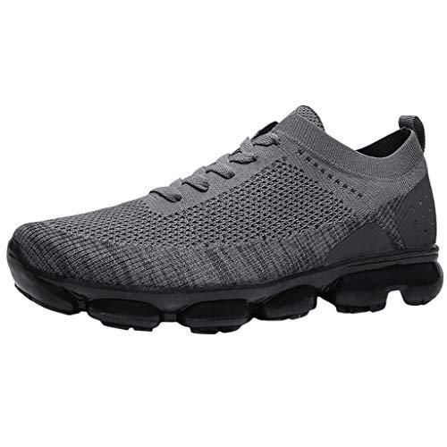 SSUPLYMY Sportlaufschuhe Paar Schuhe,Running Sneaker Herren Damen Luftkissen Laufschuhe Sportschuhe Trainers Unisex Gym Sport Athletisch Outdoor Fitnessschuhe Atmungsaktive -