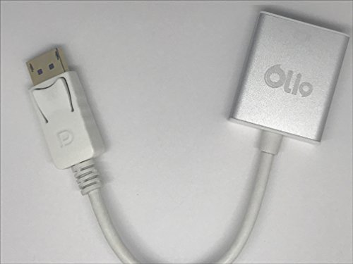 Olio HDMI TO VGA + AUDIO ADAPTER 0.15M - Suitable for Laptops - Desktop Graphic Cards with HDMI Out put from Dell - Sony