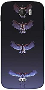 Snoogg Eagles Designer Protective Back Case Cover For Micromax A110