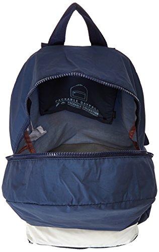 Herschel 10011-00001  Pop Quiz Backpack Rucksack, 1 Liter, Schwarz/Tan Peacoat Reflective/White Reflective