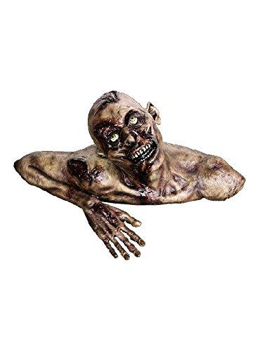 erwachender Zombie Dekofigur zur Halloween Party Deko Haunted House