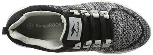 KangaROOS Treca Ii, chaussons d'intérieur mixte adulte Gris clair