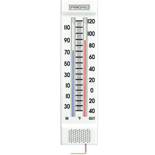DUCTS - 9-1/4-Inch Indoor/Outdoor Thermometer (Indoor-office-thermometer)
