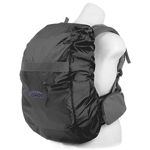 Overmont Cubierta Impermeable Protector Lluvia Mochila