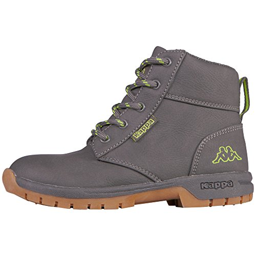 Kappa Unisex-Kinder Cammy Teens Kurzschaft Stiefel Grau (1333 anthra/lime)