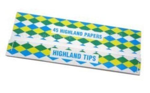 Highland cartine e filtri-Doppio Decadence-20confezioni da Trendz