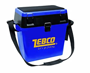 Zebco Allround Seat Box - Blue by Zebco