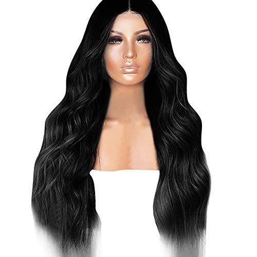 feiXIANG haute qualité Perruque Pour femmes Perruque Cheveux ondulés Extensions de cheveux Long Complète bouclé ondulé Chaleur resistant Synthetique Cosplay