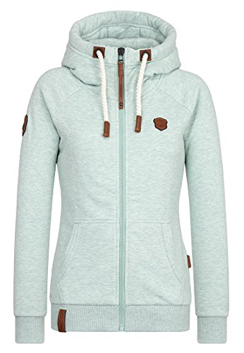 Naketano Female Zipped Jacket Brazzo Reudigen Melange, XS