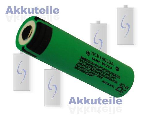Preisvergleich Produktbild Panasonic Akku Li-Ionen NCR18650A 18650 3100 mAh ungeschützt -getestet